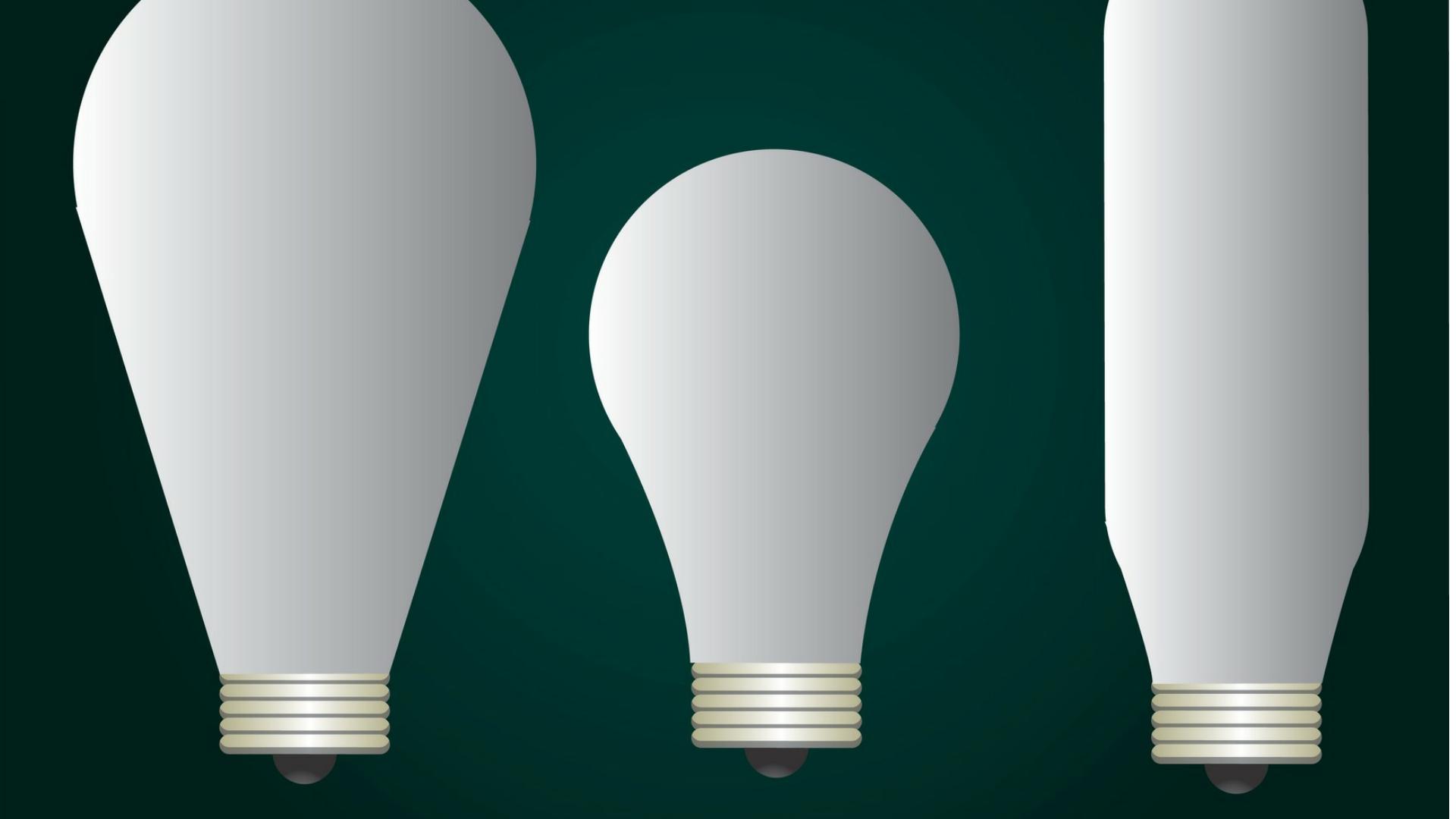 Besparen met energiezuinige lampen